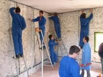 ремонт стен помещений Томск