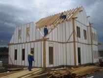 каркасное строительство домов Томск