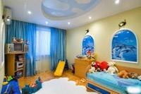 Отделка детской комнаты в Томске