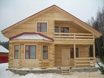 Строительство домов из бруса в Томске. Нами выполняется строительство домов из бруса, бревен в городе Томск и пригороде